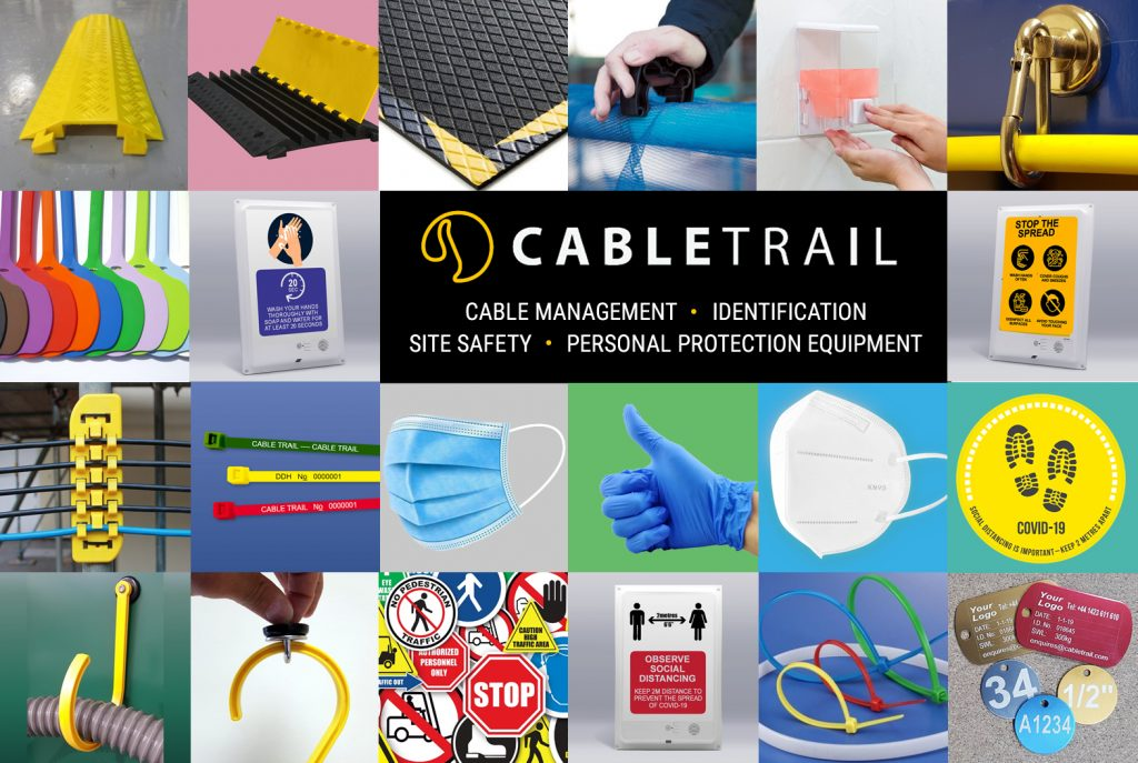 Cabletrail: Cable Management; Identification; Site Safety; Personal Protection Equipment (PPE)